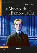 Cover-Bild zu Le Mystère de la chambre jaune. Buch + Audio-CD von Leroux, Gaston