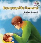 Cover-Bild zu Buonanotte tesoro! (Italian Book for Kids)