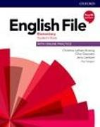 Cover-Bild zu English File. Fourth Edition. Elementary. Student's Book with Online Practice and German Wordlist