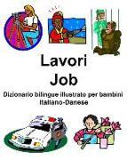 Cover-Bild zu Italiano-Danese Lavori/Job Dizionario Bilingue Illustrato Per Bambini