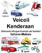 Cover-Bild zu Italiano-Malese Veicoli/Kenderaan Dizionario Bilingue Illustrato Per Bambini