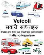 Cover-Bild zu Italiano-Nepalese Veicoli Dizionario Bilingue Illustrato Per Bambini