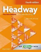 Cover-Bild zu New Headway: Pre-Intermediate A2 - B1: Workbook + iChecker without Key