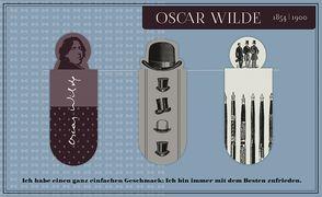 Cover-Bild zu Magnetlesezeichen Oscar Wilde
