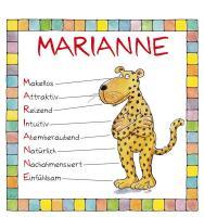 Cover-Bild zu Namenskalender Marianne