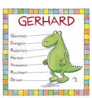 Cover-Bild zu Namenskalender Gerhard