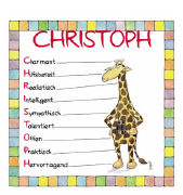 Cover-Bild zu Namenskalender Christoph