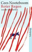 Cover-Bild zu Nooteboom, Cees: Roter Regen