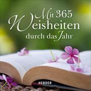 Cover-Bild zu Mit 365 Weisheiten durch das Jahr