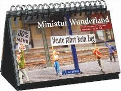 Cover-Bild zu Tischaufsteller - Miniatur Wunderland
