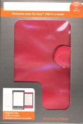 Cover-Bild zu Odyssey Schutzhülle Kunstleder rot für Sony PRS-T1