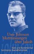 Cover-Bild zu Johnson, Uwe: Mutmassungen über Jakob