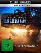 Cover-Bild zu Besson, Luc (Hrsg.): Valerian - Die Stadt der tausend Planeten UHD Blu-ray