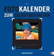 Cover-Bild zu Fotokalender zum Selbstgestalten blau
