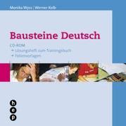 Cover-Bild zu Wyss, Monika: Bausteine Deutsch