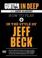 Cover-Bild zu Beck, Jeff: How to Play in the Style of Jeff Beck