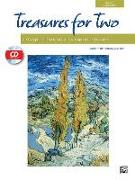 Cover-Bild zu Beck, Andy (Hrsg.): Treasures for Two: 10 Exceptional Duets for Recitals, Concerts, and Contests, Book & CD