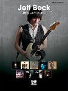 Cover-Bild zu Beck, Jeff: Jeff Beck, Guitar Tab Anthology