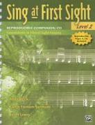 Cover-Bild zu Beck, Andy: Sing at First Sight Reproducible Companion, Bk 2: Foundations in Choral Sight-Singing, Comb Bound Book & CD