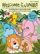 """Cover-Bild zu Fisher, Brian (Komponist): Welcome to the Jungle: A Mini-Musical Based on Aesop's Fable """"The Lion and the Mouse"""" for Unison and 2-Part Voices (Kit), Book & CD"""