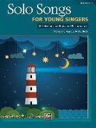 Cover-Bild zu Beck, Andy: Solo Songs for Young Singers: 12 Selections for Study and Performance for Mediym Voice
