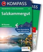 Cover-Bild zu Heitzmann, Wolfgang: KOMPASS Wanderführer Salzkammergut. 1:55'000