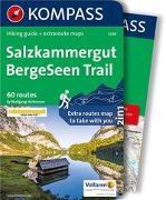 Cover-Bild zu Heitzmann, Wolfgang: KOMPASS Wanderführer Salzkammergut BergeSeen Trail, englische Ausgabe. 1:90'000