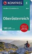 Cover-Bild zu Heitzmann, Wolfgang: KOMPASS Großes Wanderbuch Oberösterreich