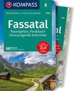 Cover-Bild zu Heitzmann, Wolfgang: KOMPASS Wanderführer Fassatal, Rosengarten. 1:50'000
