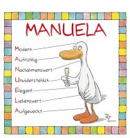 Cover-Bild zu Namenskalender Manuela