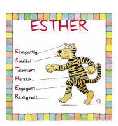 Cover-Bild zu Namenskalender Esther