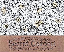 Cover-Bild zu Basford, Johanna: Secret Garden: 12 Notecards