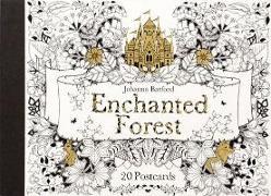 Cover-Bild zu Basford, Johanna: Enchanted Forest: 20 Postcards