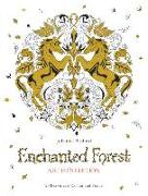 Cover-Bild zu Basford, Johanna: Enchanted Forest: 20 Drawings to Color and Frame