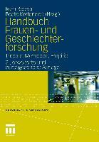 Cover-Bild zu Becker, Ruth (Hrsg.): Handbuch Frauen- und Geschlechterforschung