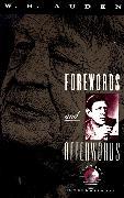 Cover-Bild zu Auden, W. H.: Forewords and Afterwords
