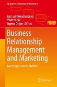 Cover-Bild zu Kleinaltenkamp, Michael (Hrsg.): Business Relationship Management and Marketing