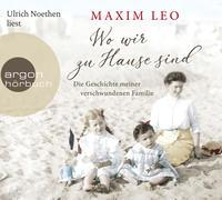 Cover-Bild zu Leo, Maxim: Wo wir zu Hause sind