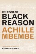 Cover-Bild zu Mbembe, Achille: Critique of Black Reason