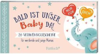 Cover-Bild zu Krupinski, Janna (Illustr.): Bald ist unser Baby da!
