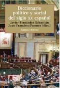 Cover-Bild zu Fernandez Sebastian, Javier (Gespielt): Diccionario Politico y Social del Siglo XX Espanol