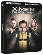 Cover-Bild zu Matthew Vaughn (Reg.): X-MEN: Le Commencement - 4K+2D Steelbook Edition