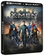 Cover-Bild zu Bryan Singer (Reg.): X-MEN: Days of Future Past - 4K+2D Steelbook Edition