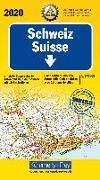 Cover-Bild zu Hallwag Kümmerly+Frey AG (Hrsg.): Schweiz ACS 2020. 1:275'000