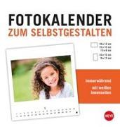 Cover-Bild zu Fotokalender zum Selbstgestalten weiß