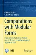 Cover-Bild zu Computations with Modular Forms