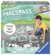 Cover-Bild zu Outdoor Malspaß Dinosaurier (grün)