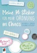 """Cover-Bild zu Meine 96 Sticker für mehr Ordnung im Chaos """"live - love - teach"""" - Humorvolle Sprüche und Blanko-Aufkleber"""