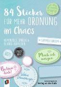 Cover-Bild zu 84 Sticker für mehr Ordnung im Chaos