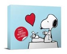 Cover-Bild zu Peanuts Haftnotizen mit Herz